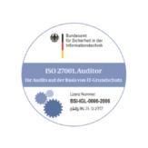 Auditteamleiter für ISO27001 auf der Basis von IT‑Grundschutz