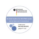 De-Mail-Auditor für ISO 27001-Audits / IT-Grundschutz